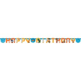 Rusty Rivets slinger happy birthday 2,18 mtr.