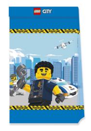 Lego City Politie traktatiezakjes 4 st.