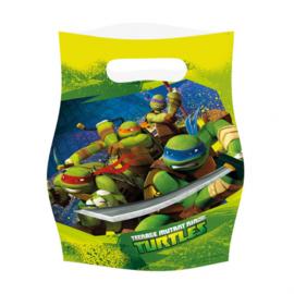 Ninja Turtles traktatiezakjes 6 st.