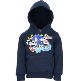 Sonic The Hedgehog hoodie blauw mt. 96