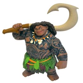 Disney Vaiana Maui taart topper decoratie 12 cm.