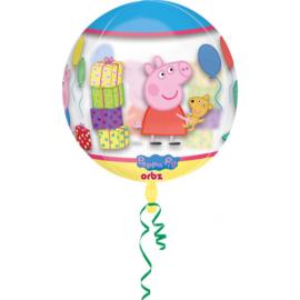 Peppa Pig See-Thru ballon 38 x 40 cm.