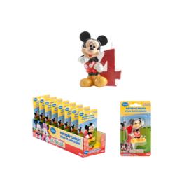 Disney Mickey Mouse Clubhouse 4e verjaardag taart kaars