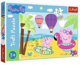 Peppa Pig puzzel Beach 24 stukjes Maxi