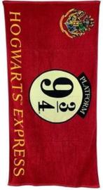 Harry Potter strandlaken Hogwarts Express 75 x 150 cm.