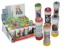 The Secret Life Of Pets bellenblaas 60 ml. p/stuk
