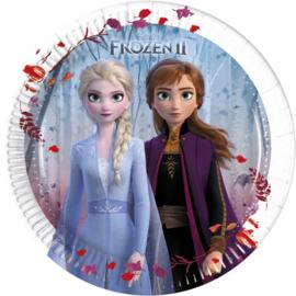 Disney Frozen 2 gebakbordjes ø 19,5 cm. 8 st.