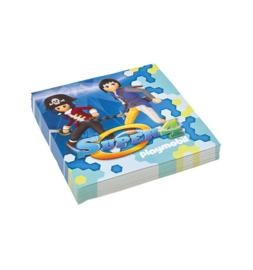 Playmobil servetten 33 x 33 cm. 20 st.