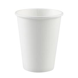 Witte wegwerp bekertjes 266 ml. 8 st.