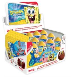 Sponge Bob chocolade verrassing ei p/stuk