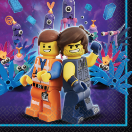 Lego Movie 2 servetten 33 x 33 cm. 16 st.
