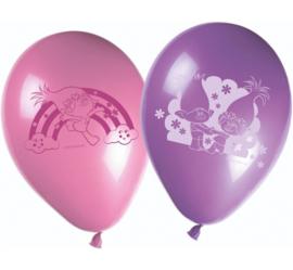 Trolls ballonnen ø 28 cm. 8 st.