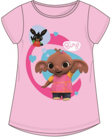 Bing en Sula t-shirt roze mt. 98