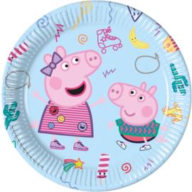Peppa Pig bordjes Messy Play  ø 23 cm. 8 st.