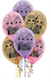 LOL Surprise ballonnen party ø 30 cm. 6 st.