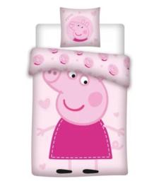 Peppa Pig dekbedovertrekset 140 x 200 cm.