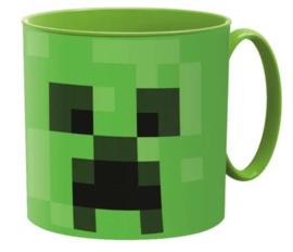 Minecraft kunststof mok Creeper 265 ml.