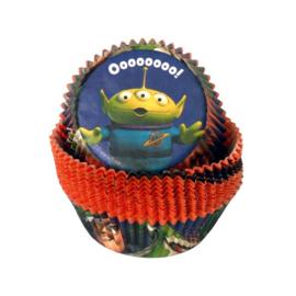 Disney Toy Story cupcake vormpjes 50 st.