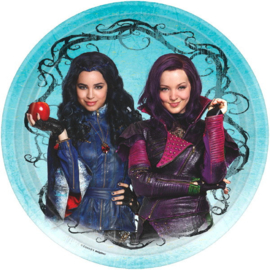 Disney Descendants 2 bordjes ø 22,9 cm. 8 st.