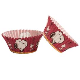 Snoopy Peanuts cupcake vormpjes 50 st.