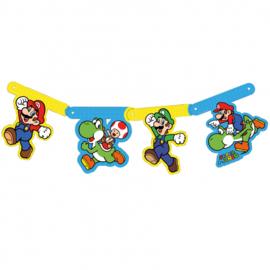 Super Mario Bros letterslinger 1,6 mtr