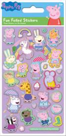 Peppa Pig herbruikbare stickers C
