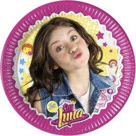 Disney Soy Luna gebakbordjes ø 20 cm. 8 st.