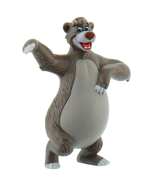 Disney Jungle Book Baloo taart topper decoratie 7 cm.