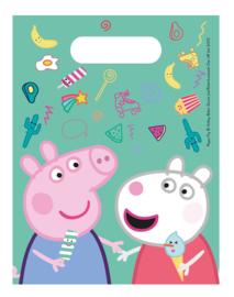 Peppa Pig traktatiezakjes Messy Play 6 st.