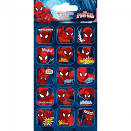 Spiderman herbruikbare stickers B