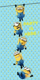 Lovely Minions deurposter 75 x 150 cm.
