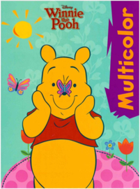 Disney Winnie de Poeh kleurboek Multicolor