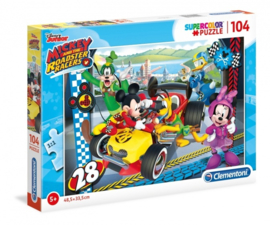 Disney Mickey Mouse and friends puzzel 104 stukjes