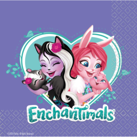 Enchantimals servetten 33 x 33 cm. 16 st.