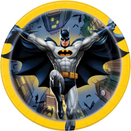 Batman gebakbordjes ø 17,1 cm. 8 st.