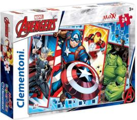 Avengers puzzel 24 stukjes maxi