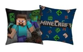 Minecraft sierkussen Steve - Creeper 40 x 40 cm.