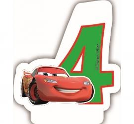 Disney Cars 4e verjaardagskaars