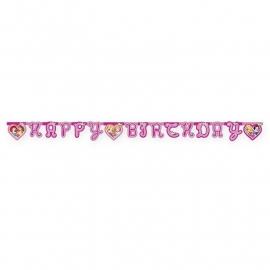 Disney Princess Dreaming letterslinger happy birthday 1,75 mtr.