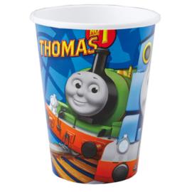 Thomas de Trein bekertjes 8 st.