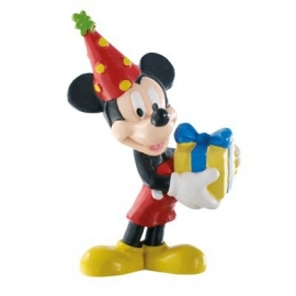 Disney Mickey Mouse celebration taart topper decoratie 7 cm.