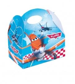 Disney Planes traktatiedoosje 16 x 16 x 10,5 cm.