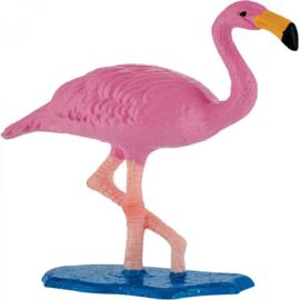 Flamingo taart en cupcake decoratie