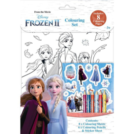 Disney Frozen 2 kleur- en stickerset