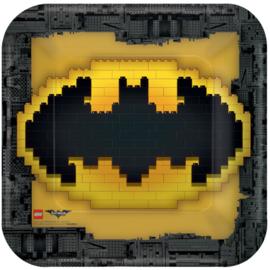Lego Batman bordjes vierkant 22,9 cm. 8 st.