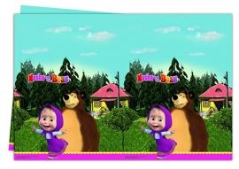 Masha and the Bear tafelkleed 120 x 180 cm.