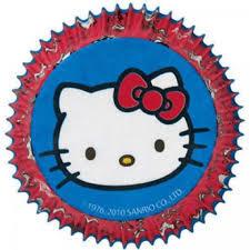Hello Kitty cupcake vormpjes 50 st.