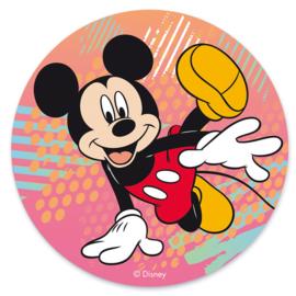 Disney Mickey Mouse ouwel taart decoratie ø 20 cm.