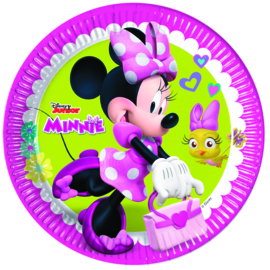 Disney Minnie Mouse Happy Helpers bordjes ø 23 cm. 8 st.