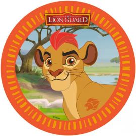 Disney The Lion Guard ouwel taart decoratie ø 21 cm. B